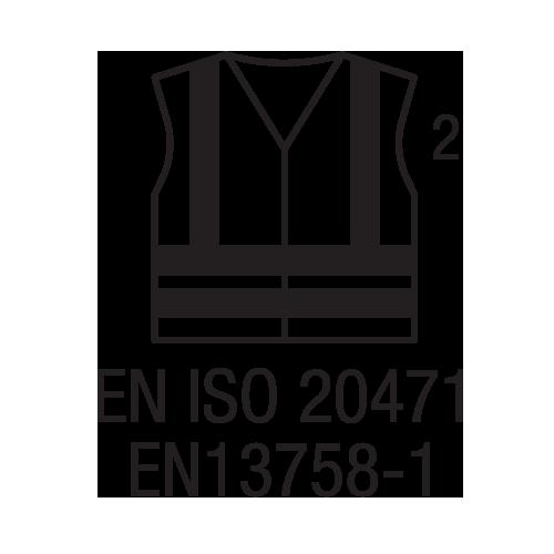 EN ISO 20471 EN13758-1 -Haute Visibilité