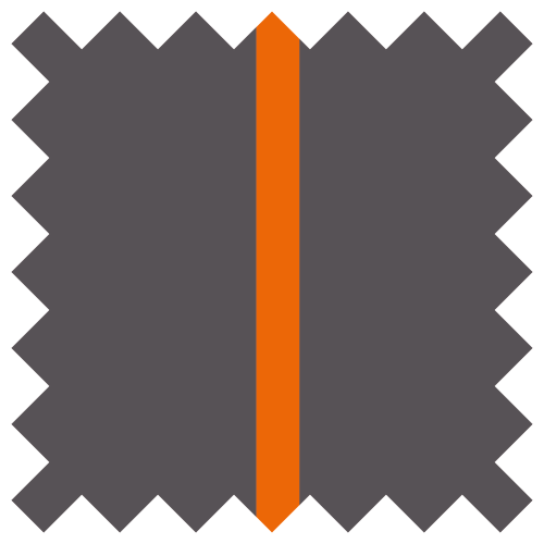 Anthracite - Orange