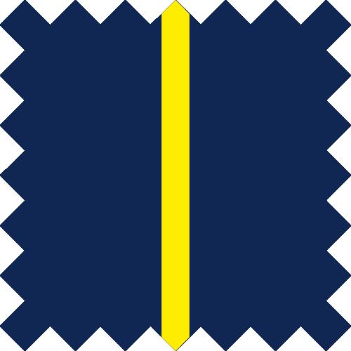 Marine / Jaune Fluo