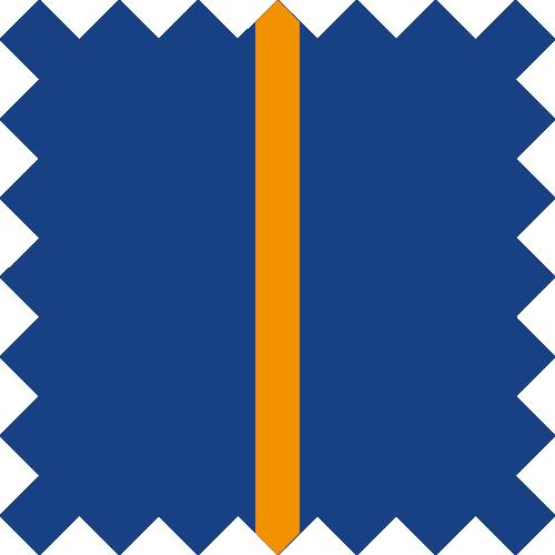 Marine / Orange