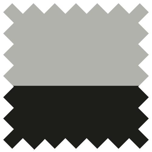 Noir / Gris chiné