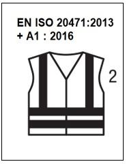 EN ISO 20471 - Haute Visibilité classe 2
